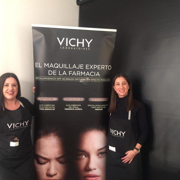 Taller Maquillaje Vichy en Farmacia Corredoria