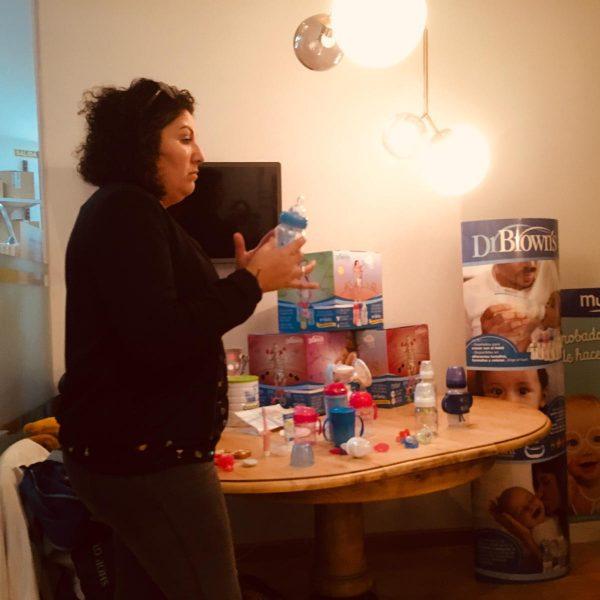 Dr. Brown's evento Nuevas Mamás