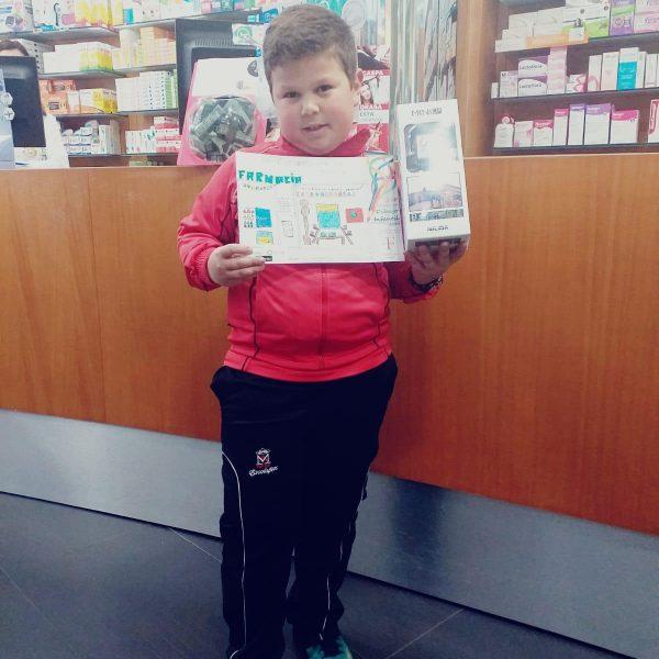 Ganadores 1er Concurso de Dibujo Infantil Farmacia Corredoria